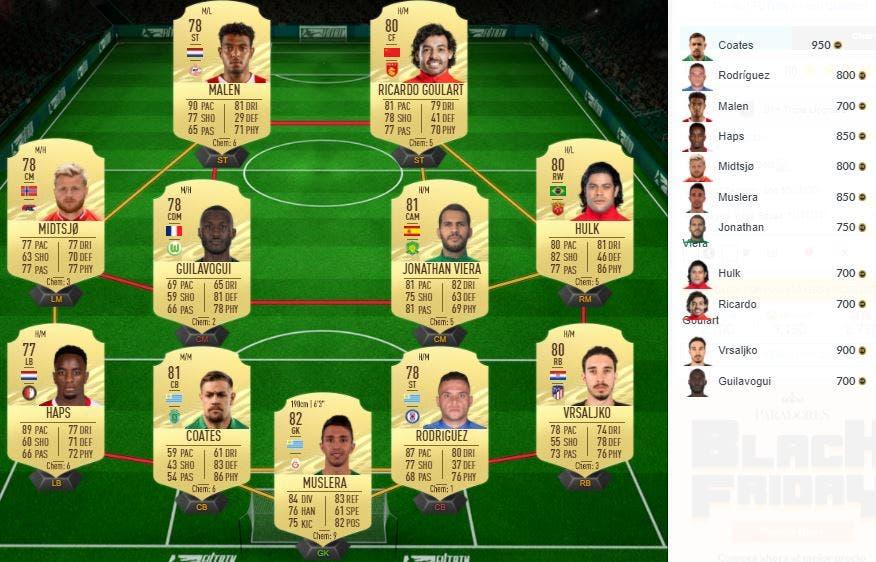 FIFA 21 Ultimate Team SBC Black Friday