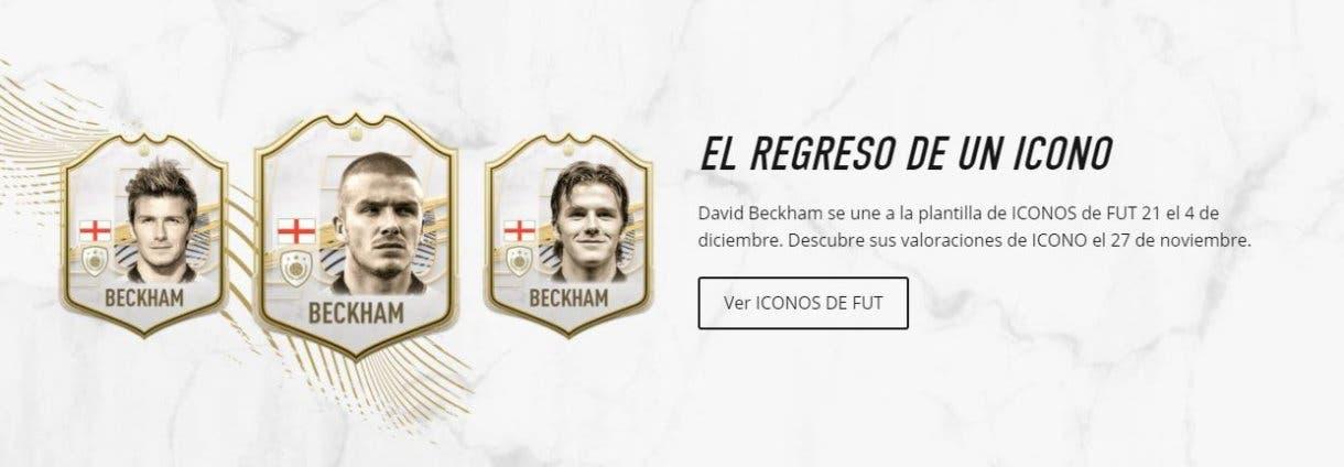 FIFA 21 David Beckham Icono Ultimate Team