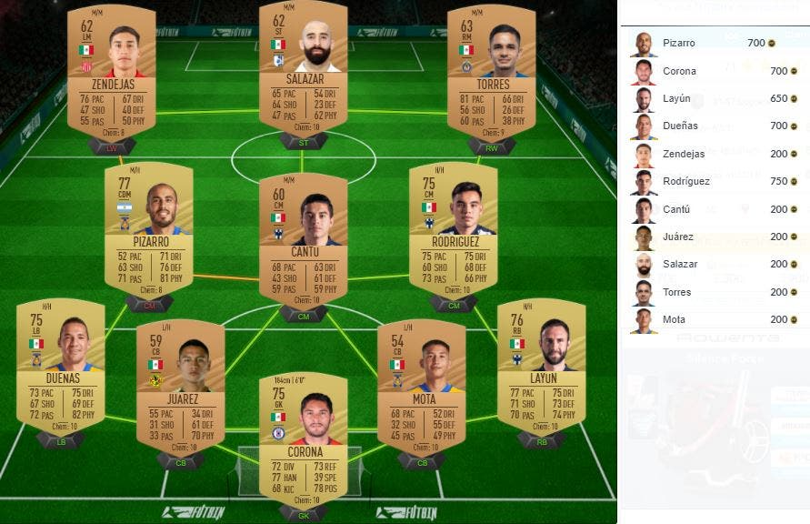 FIFA 21 Ultimate Team SBC