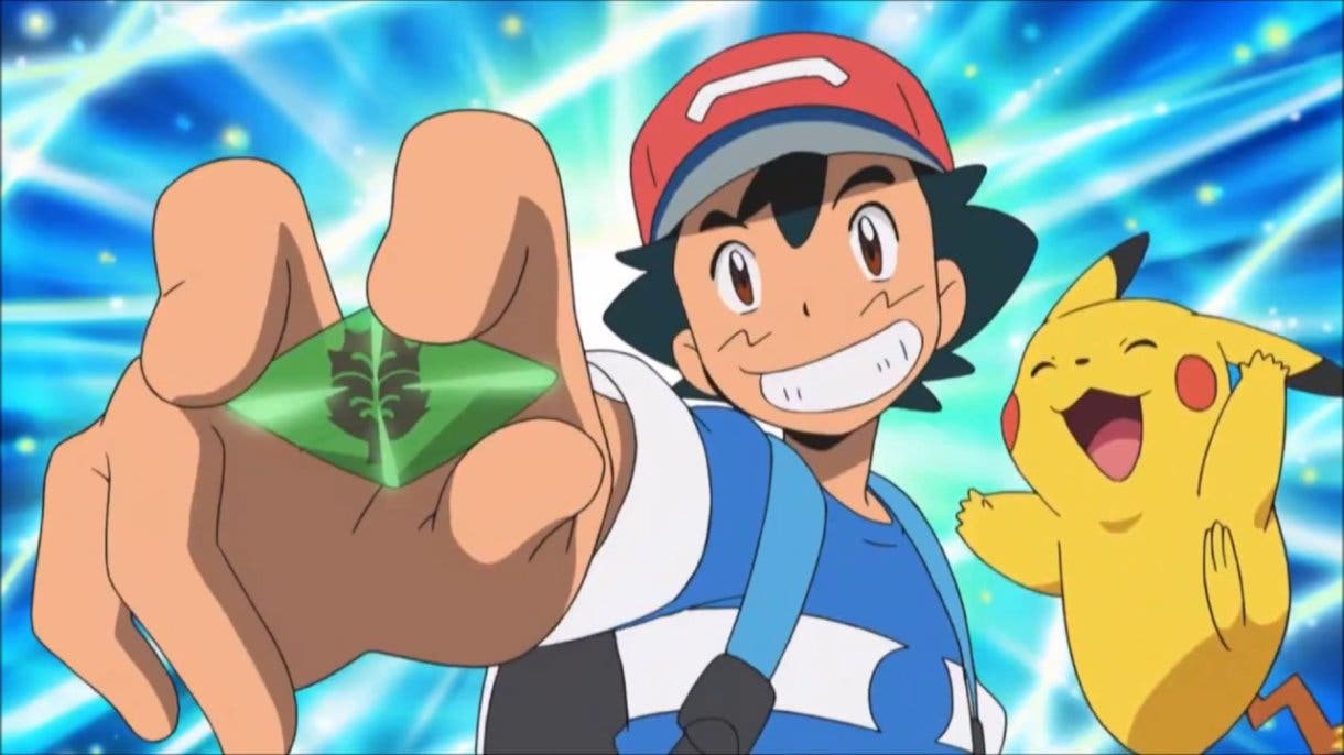 anime de Pokemon Ash Cristal Z