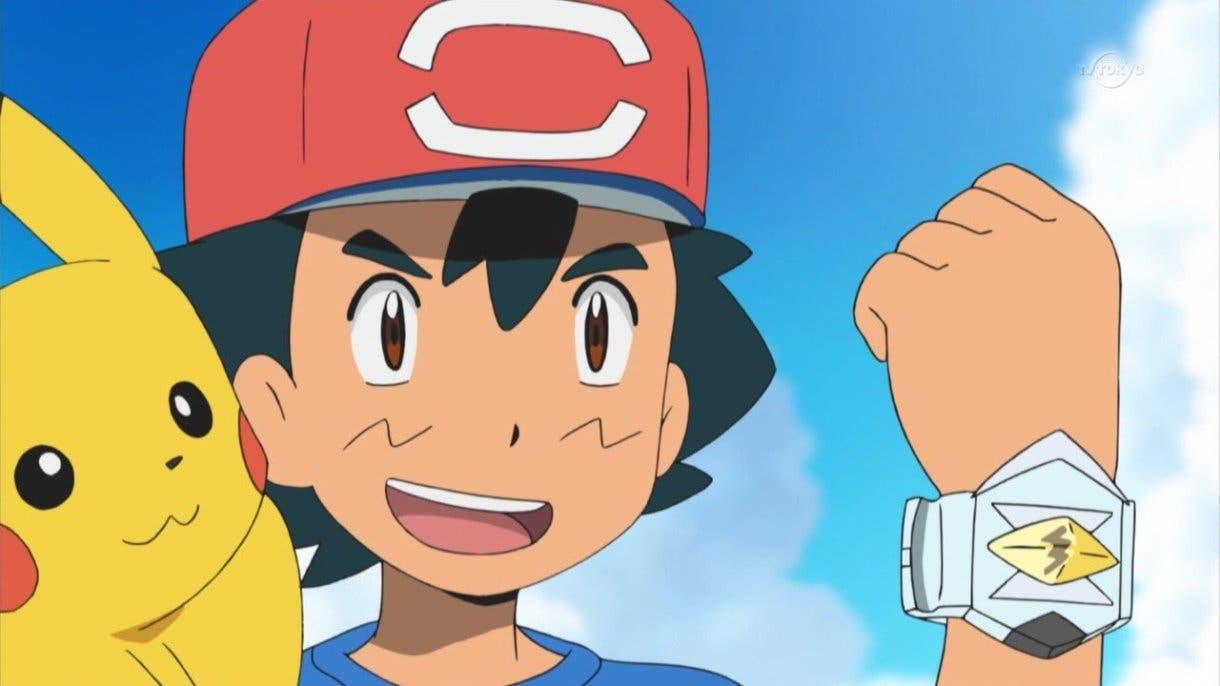 anime de Pokemon Ash Pulsera Z