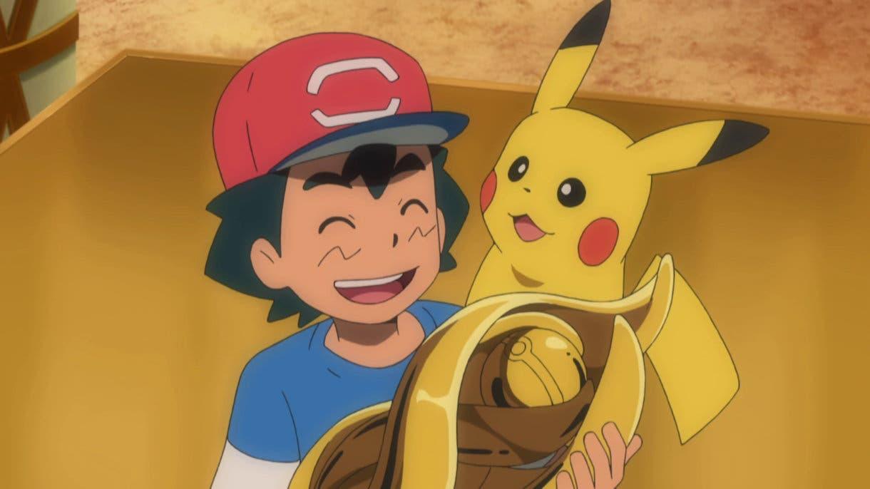 anime de Pokemon Ash gana Liga de Alola