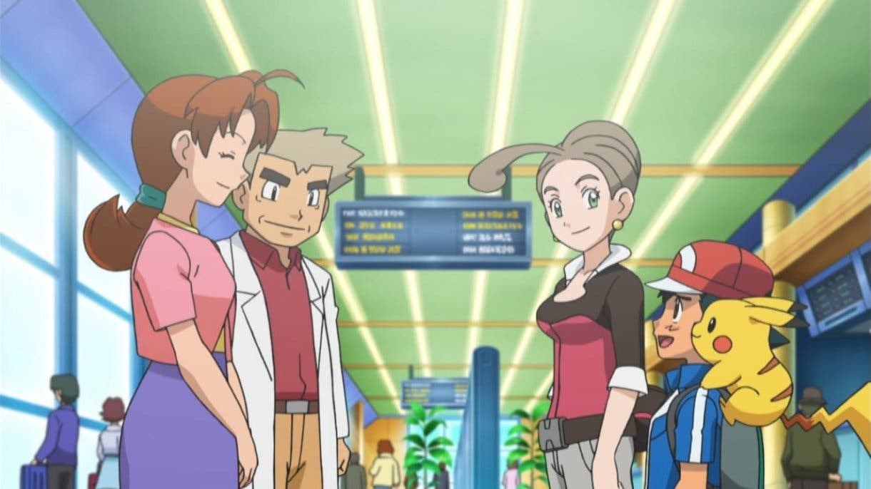 anime de Pokemon Ash rumbo a Kalos