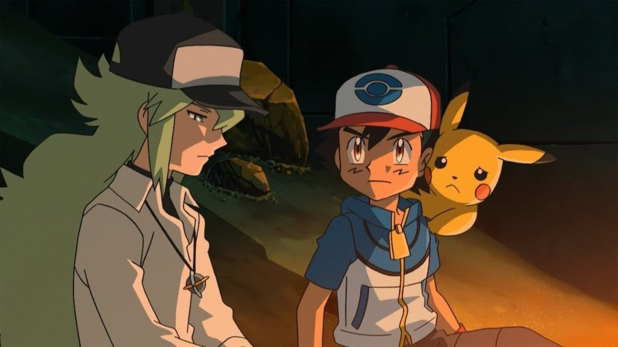 anime de Pokemon Ash y N