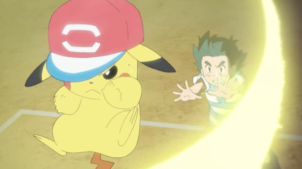 anime de Pokemon Ash y Pikachu Liga Alola