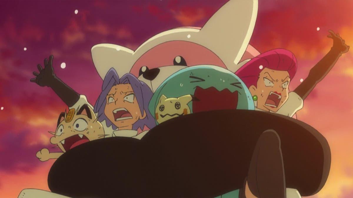 anime de Pokemon Bewear Team Rocket