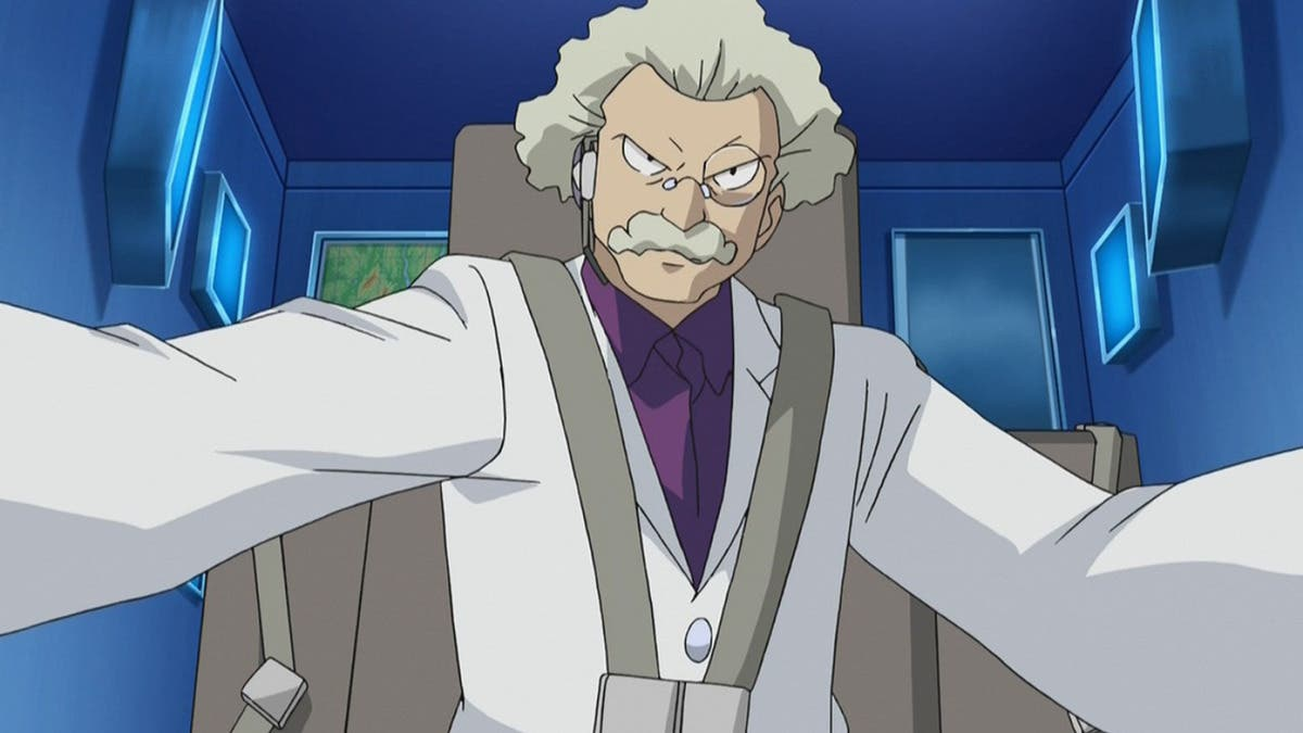 anime de Pokemon Doctor Zager