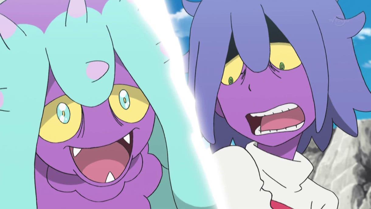anime de Pokemon James y Mareanie