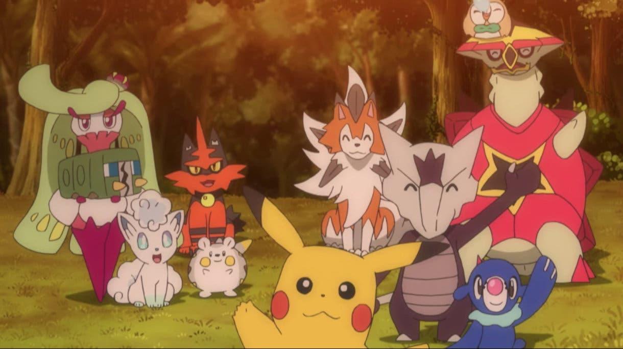 anime de Pokemon Pokemon Ash y amigos Alola