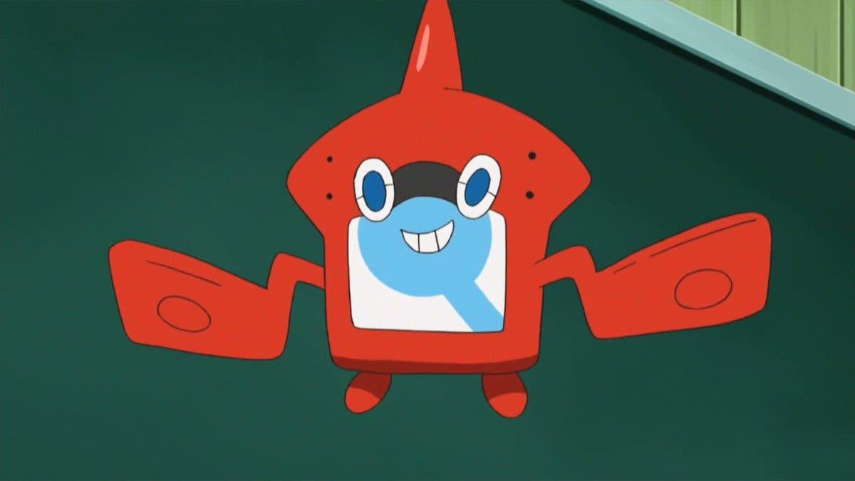 anime de Pokemon RotomDex