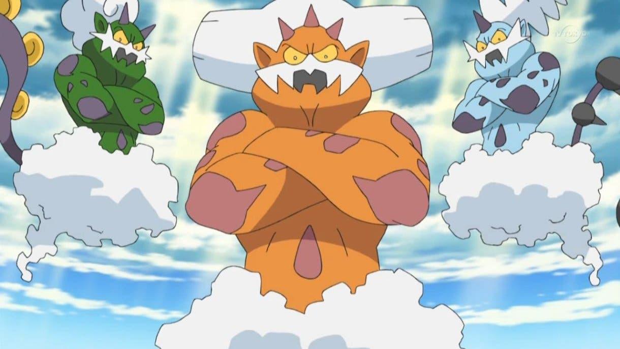 anime de Pokemon Tornadus Landorus Thundurus