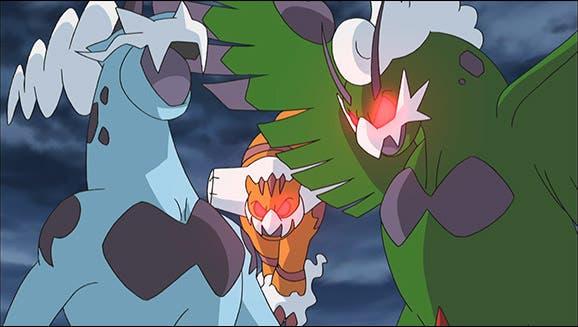 anime de Pokemon Tornadus Thundurus Landorus
