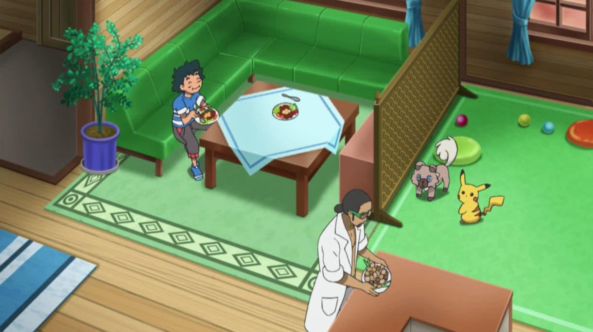 anime de Pokemon casa de Kukui