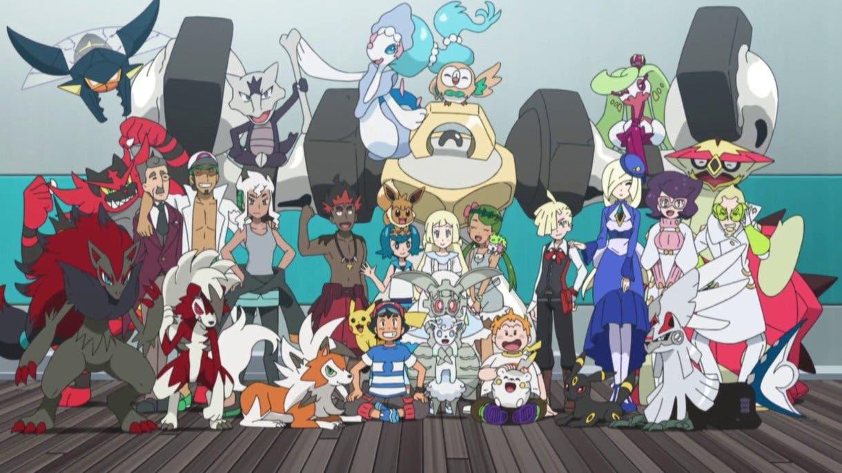 anime de Pokemon foto final Alola