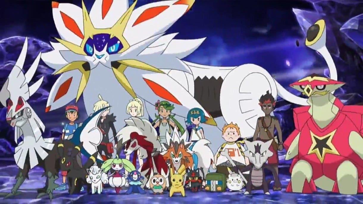 anime de Pokemon rescate de Samina