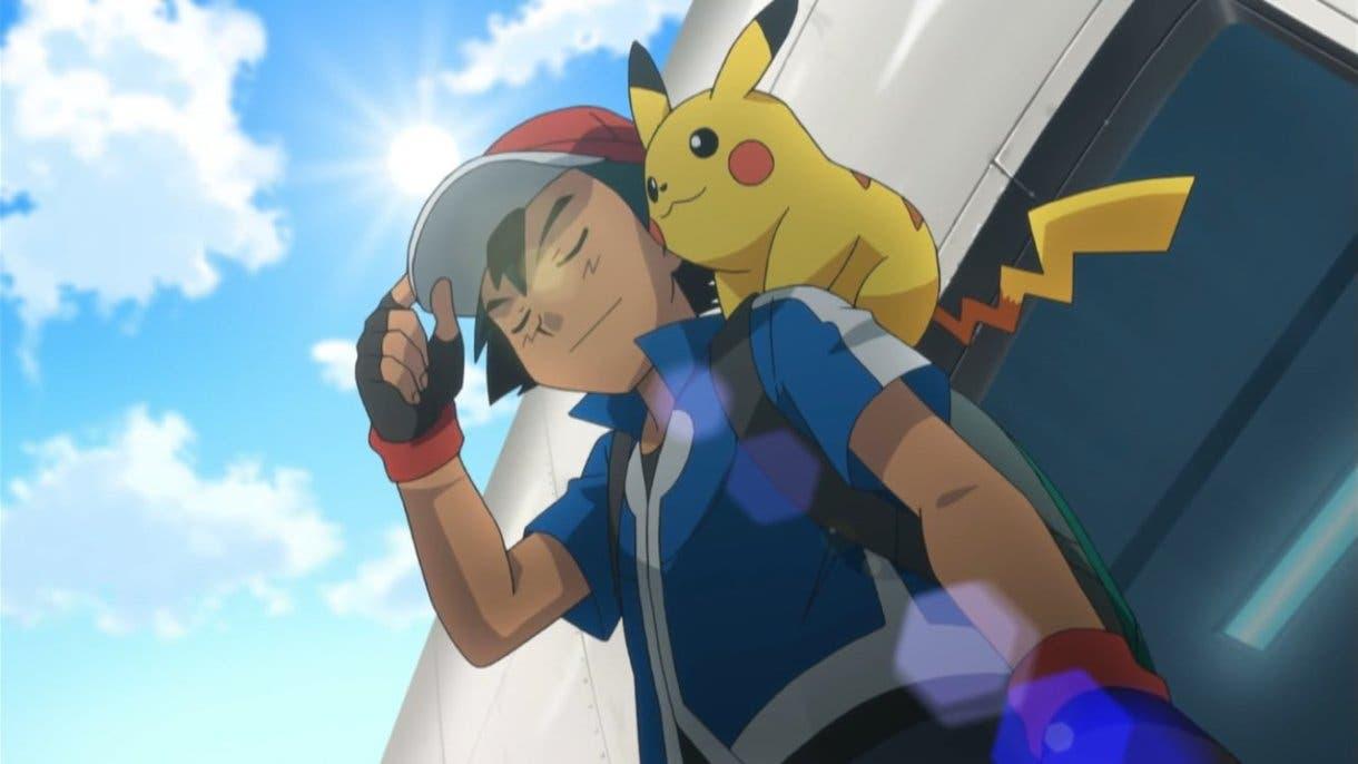anime de Pokemon Ash y Pikachu llegada Kalos