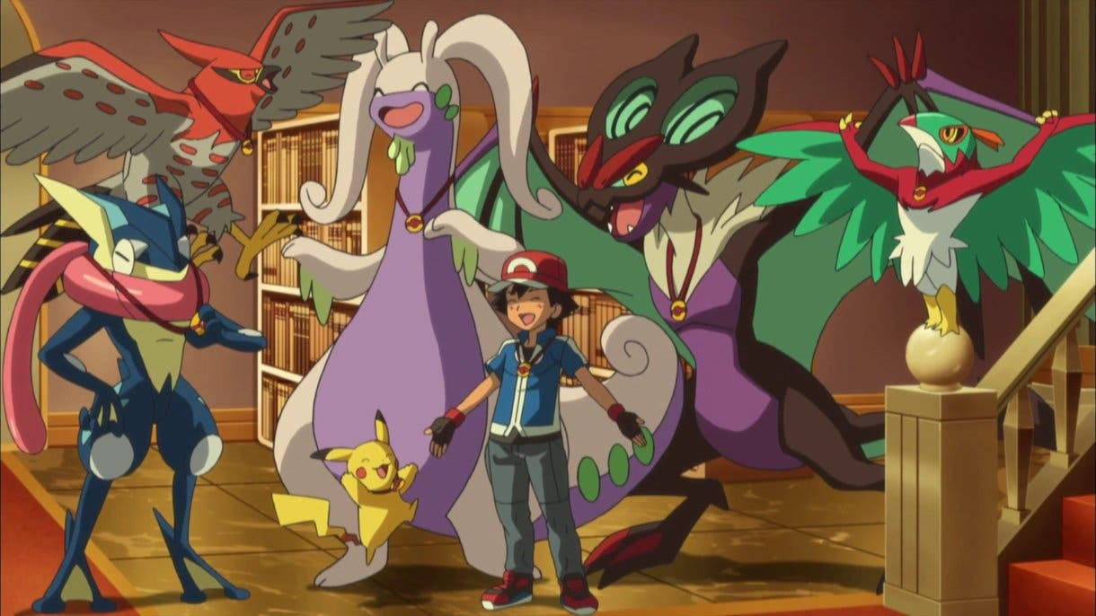 anime de Pokemon equipo Ash en Kalos