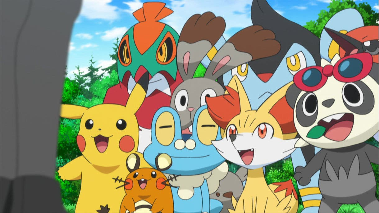 anime de Pokemon equipo protagonistas Kalos