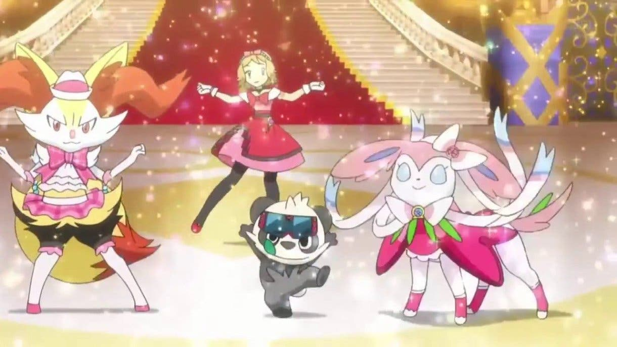anime de Pokemon Serena Clase Maestra