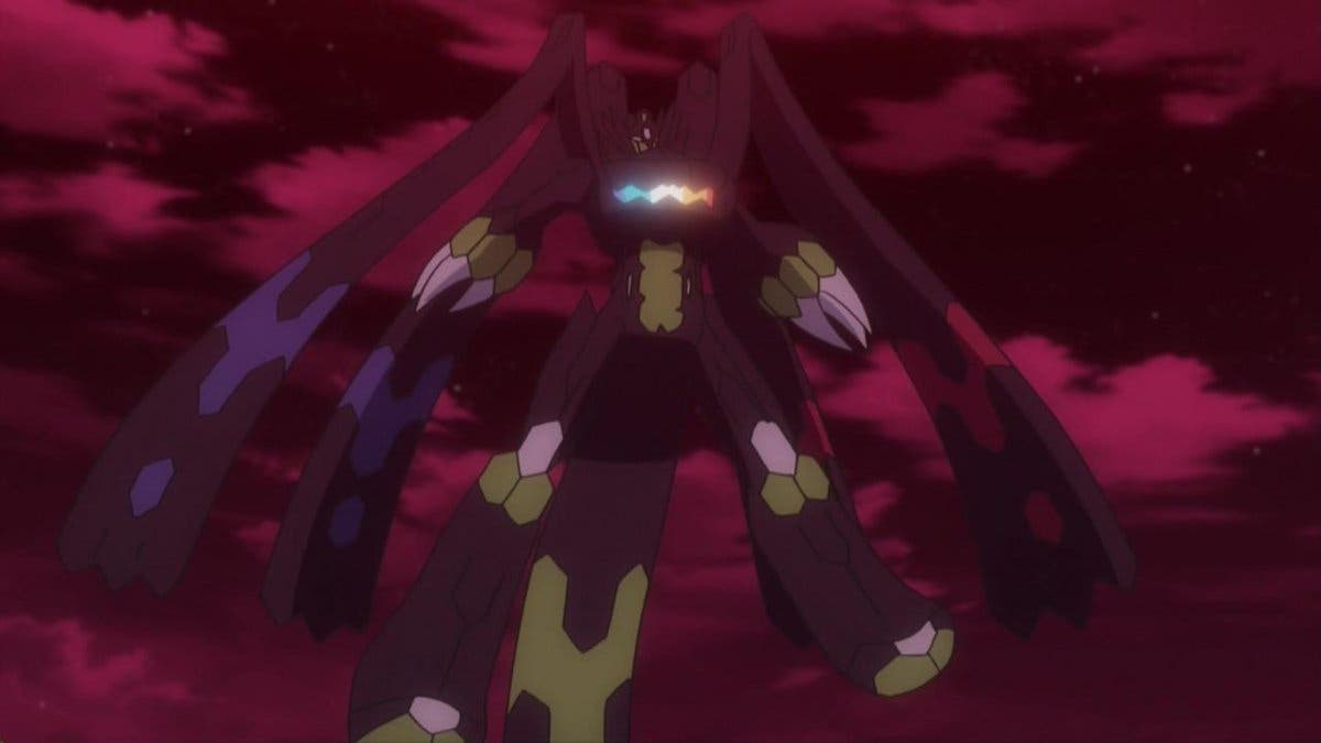 anime de Pokemon Zygarde forma completa