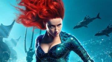 Imagen de Amber Heard ya se encuentra en el rodaje de Aquaman 2 y así la han recibido