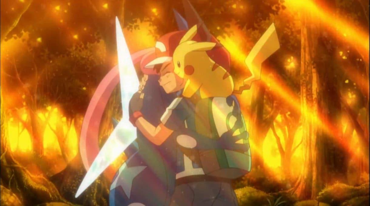 Ash y Greninja despedida 2