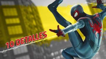 Imagen de 10 detalles alucinantes de Spider-Man: Miles Morales que seguramente no sabías