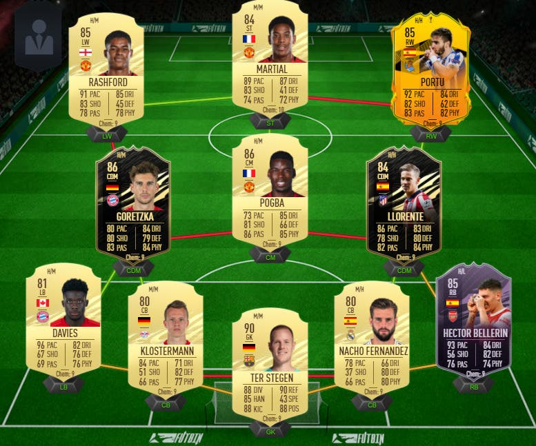 FIFA 21 Ultimate Team plantilla Division Rivals FUT Champions un millón de monedas
