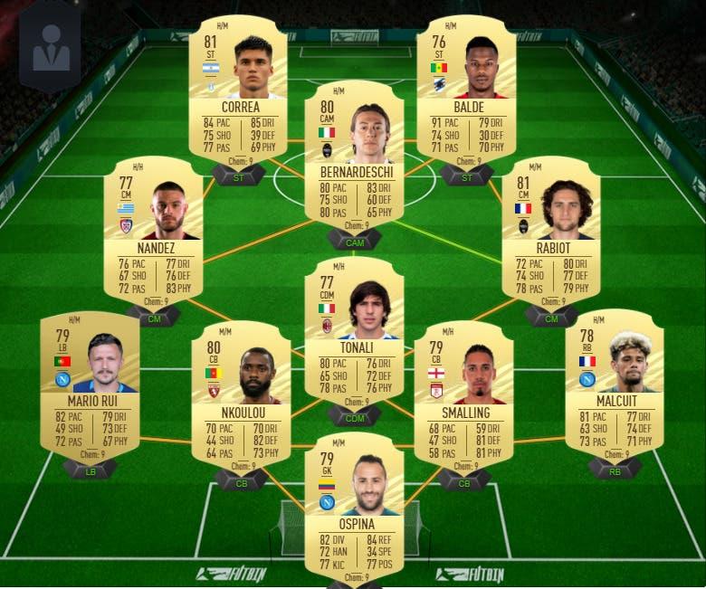 FIFA 21 Ultimate Team Deulofeu Jugador de Liga Guía