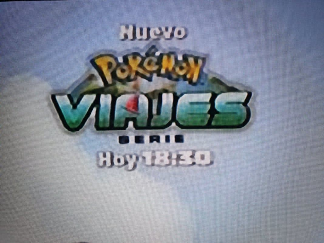Cartel Viajes Pokemon Boing