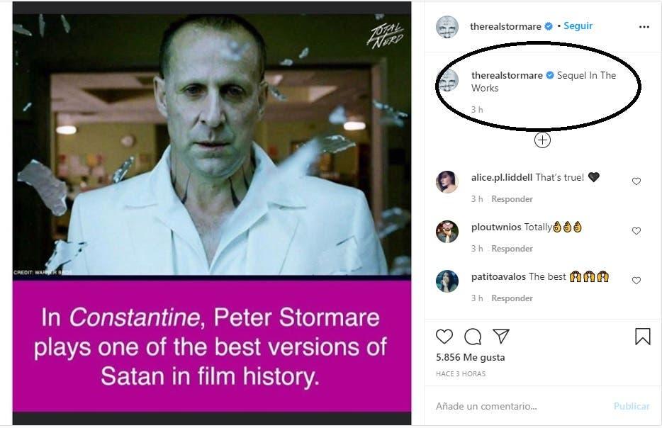 Constantine 2 es una realidad, según Peter Stormare