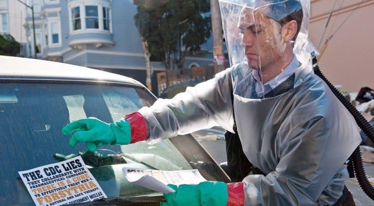 Imagen de Así fue la forma en la que Jude Law se percató de que habría una pandemia mientras grababa Contagio