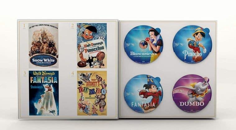 Imagen de Amazon pone a la venta en exclusiva la colección completa de Disney Clásicos con 57 películas
