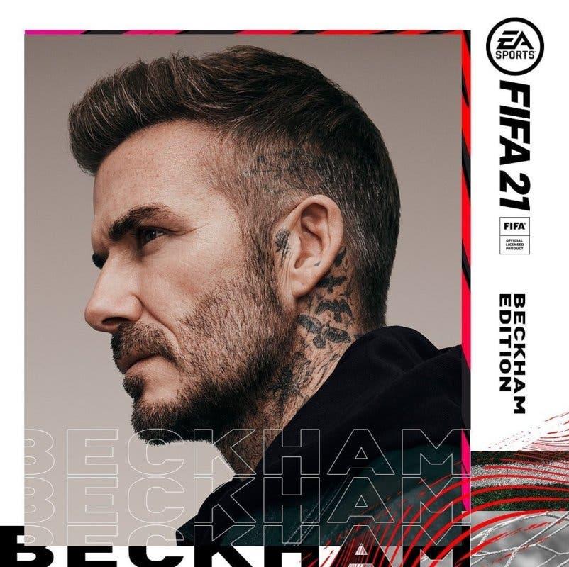 David Beckham Edition Portada FIFA 21 Ultimate Team