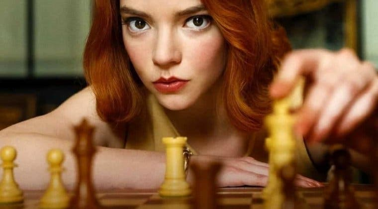 Imagen de Gambito de Dama se convierte en la miniserie más vista de Netflix en su estreno