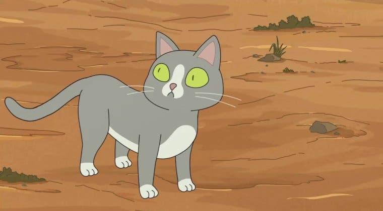 Imagen de Rick y Morty: ¿qué hay detrás del gato que habla?