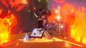 Imagen de Xinyan, la guerrera rockera de Genshin Impact, se presenta con un nuevo vídeo