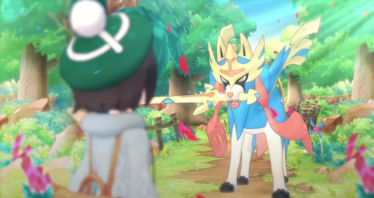 Gloria y Zacian Pokémon Masters EX