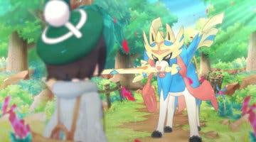 Imagen de Gloria y Zacian, ya disponibles en Pokémon Masters EX