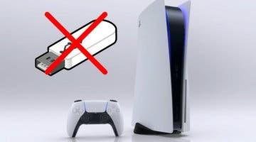 Imagen de PS5 no permite transferir datos de guardado de sus juegos a USB