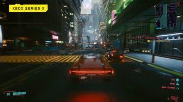 Imagen de Cyberpunk 2077 muestra gameplay en Xbox Series X y Xbox One X