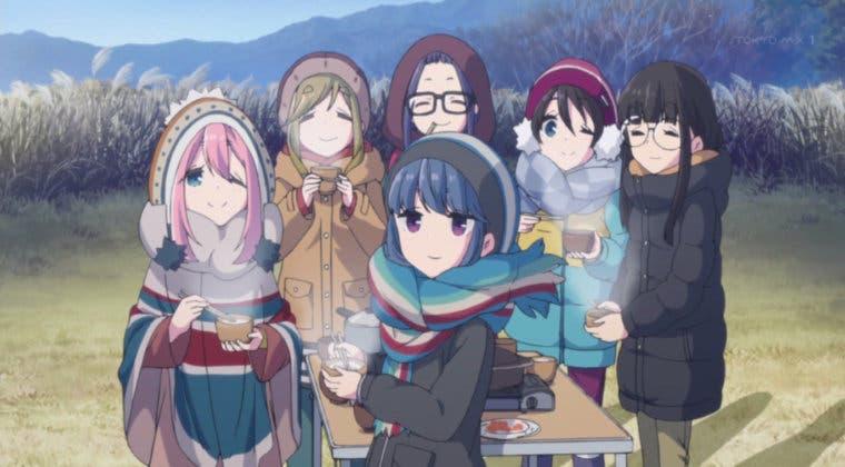 Imagen de Yuru Camp fecha el estreno de su temporada 2