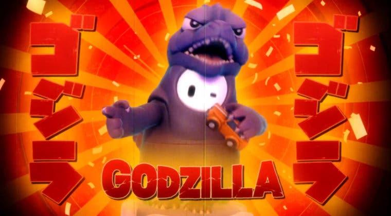 Imagen de Fall Guys recibe su esperada skin de Godzilla