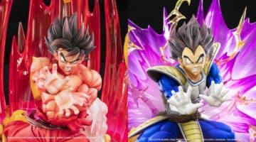Imagen de Goku y Vegeta (Dragon Ball Z); Tsume luce más de 1000 euros de figura