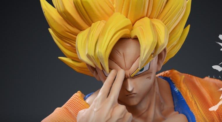 Imagen de Dragon Ball Z: Goku SSJ/SSJ 3 en una increíble figura de 240 euros