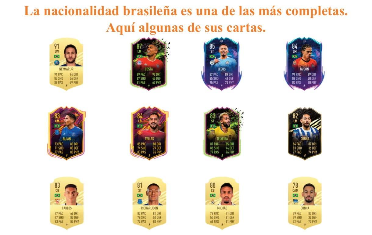 Alex Sandro links naranjas FIFA 21 Ultimate Team
