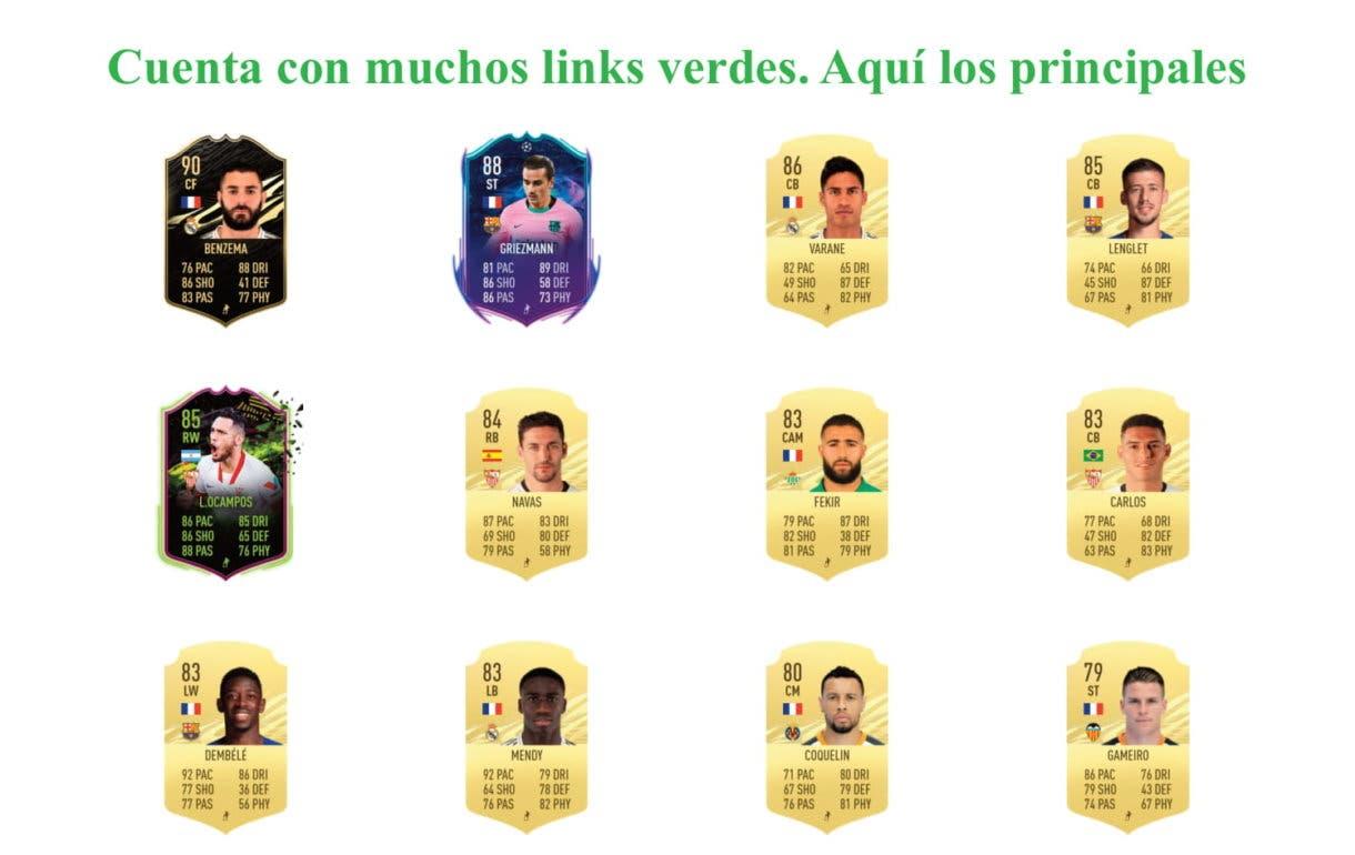 Koundé RTTF links verdes FIFA 21 Ultimate Team