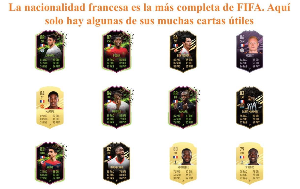 Koundé RTTF links naranjas FIFA 21 Ultimate Team
