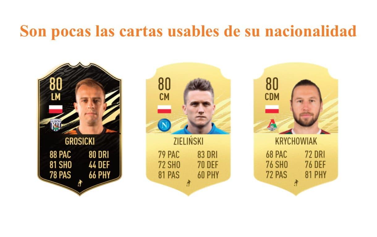 Lewandowski POTM links naranjas FIFA 21 Ultimate Team