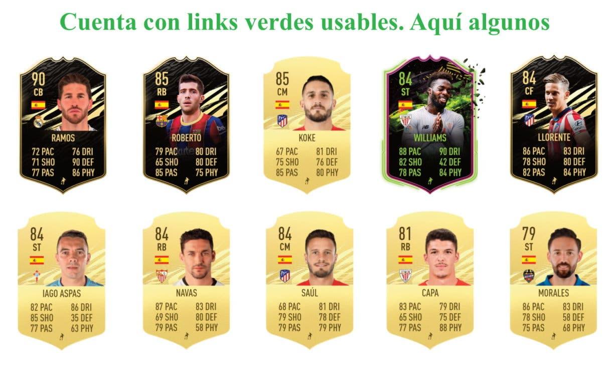 Portu RTTF links verdes FIFA 21 Ultimate Team